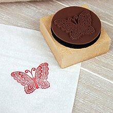 Kreativ DIY Niedlich Mini-Dekoration Holz Stempel