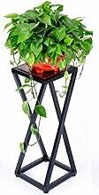 Kreativ Einfache Eisen Blumentopf Regal Pflanze Stand Balkon Wohnzimmer Blumenregal Blumentopf Halter (größe : 80cm)