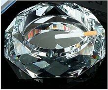 Kreativ Kristall Glas Aschenbecher Große] Ktv