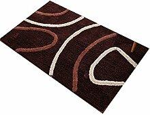 Kreativ Rechteck Haushalt Badezimmer Komfortable Anti-Rutsch-Wasserabsorption Tragen Schlafzimmer Studie Wohnzimmer Zimmer Teppich ( Farbe : A , größe : 80*160cm )