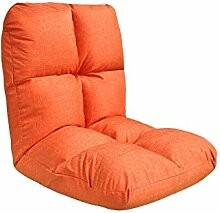 Kreativ Sofa faltbar Sofa Rückenlehne Stuhl Balkon Kissen Sofa Stuhl Mode Persönlichkeit Komfortable Soft Freizeit Sofa, abnehmbar ( farbe : #7 )