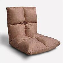 Kreativ Sofa faltbar Sofa Rückenlehne Stuhl Balkon Kissen Sofa Stuhl Mode Persönlichkeit Komfortable Soft Freizeit Sofa, abnehmbar ( farbe : # 5 )