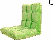 Kreativ Sofa Faltbare Sofa Rückenlehne Stuhl Balkon Kissen Sofa Stuhl Mode Persönlichkeit Komfortable Soft Freizeit Sofa ( farbe : # 4 , größe : L )