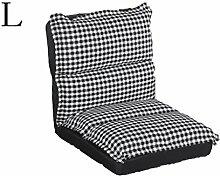 kreativ Sofa Faltbare Sofa Sessel Balkon Kissen Sofa Stuhl Fashion Persönlichkeit Weiche und bequeme Entspannung Sofa Liegestuhl ( farbe : # 4 , größe : L )