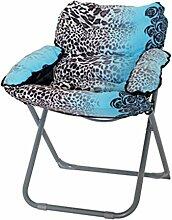 kreativ Sofa Faltbare Stuhl Sessel Sofa Stuhl Fashion Persönlichkeit Weiche und bequeme Entspannung Stuhl, tragbar ( farbe : #16 )