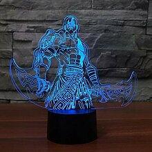 Kreative 7 Farbwechsel 3D Figuren Modellierung