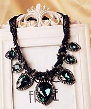 Kreative Accessoires Kette für Frauen Kristall