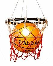Kreative Acryl Basketball Und Nets Pendelleuchte