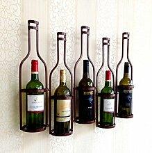 Kreative Amerikanische Weinregal Wand-Weinregal