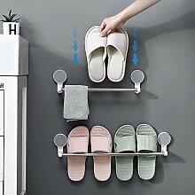 Kreative Badregal Hausschuhe Rack Bad Wand