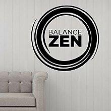 Kreative balance wandkunst aufkleber dekoration