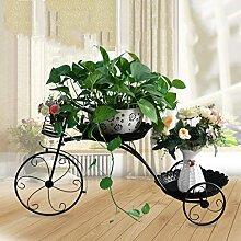 Kreative Blumenwagen Metall Garten