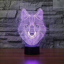 Kreative bunte Geschenk-Lichter, Acrylnachtlicht,