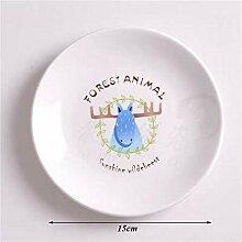 Kreative Cartoon Animal Fox Dessert