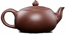 Kreative chinesische Yixing-Teekanne, 400 ml, roh,