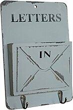 Kreative Dekoration-Aufbewahrungsboxen Organizer Schlüsselhalter -Grau-Farbe Ar