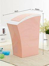 Kreative Desktop-Push Papierkorb/[Schreibtisch-Organisator Fass]/ Mini-Mülleimer/ Schreibtisch sauber Lauf-C