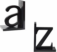Kreative Einfachheit modernes Alphabet Buchstütze