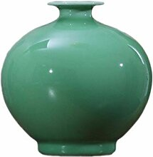 Kreative Einfachheit Vase Keramik Grüne Glasur