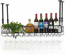 Kreative Einfachheit Zähler Wand Glas Rack Bar