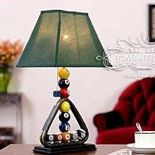 Kreative,Europäisch,Amerikanischen,Ländlichen,Living Room,Schlafzimmer,Tischleuchte/Billard Tischlampe/Nachttischlampe/Tabelle-A Netzschalter ziehen