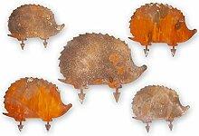 Kreative Feder Edelrost-Set Igel süß Tier