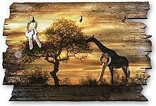 Kreative Feder Giraffe Afrika Designer