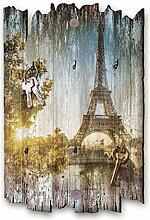Kreative Feder Paris Designer Schlüsselbrett,