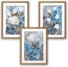 Kreative Feder Poster, Blume, Natur, Pflanze,