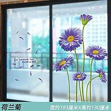 Kreative Fensterbank Aufkleber selbstklebende