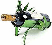 Kreative freistehende Weinregal Peacock Weinhalter