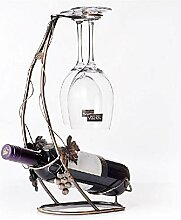 Kreative freistehende Weinregale Weinhalter