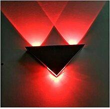 Kreative geführte einfache Wandlampe, moderne