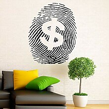 Kreative Geld Zeichen Kunst Aufkleber Dollar