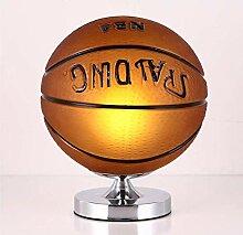 Kreative Glaslampe -LED Basketball/Fußball Kreis