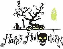 Kreative Halloween-Art-Druck-Leuchtende