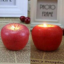Kreative Heiligabend Geschenk Kerze künstliche