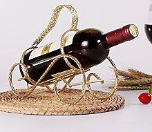 Kreative Heimat Wine Rack-Zubehör/Wein Schrank Dekoration/Europäische Handwerk Flaschenregale und Schmiedeeisen Wein Rack/[Eisen Weinregal]-M