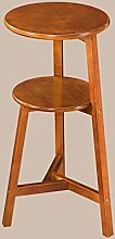 Kreative Holz Blumenregal mehrstöckige Balkon Montage Blumenregal Boden Pflanzer Regal Einfache moderne Wohnzimmer Indoor Blumenregal (2 Styles verfügbar) ( farbe : A , größe : 2 )