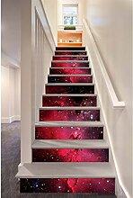 Kreative Home Staircase Aufkleber Korridor Treppen
