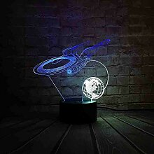 Kreative Hot Star Wars 3D Licht Star Trek
