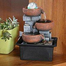 Kreative Indoor Water Brunnen Feng Shui Resin