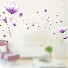 Kreative Kann Wand Paste Blumen Wohnzimmer Tv
