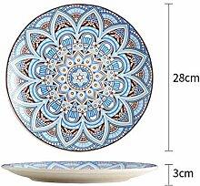 Kreative Keramik Handbemalt Unter Glasur Essteller