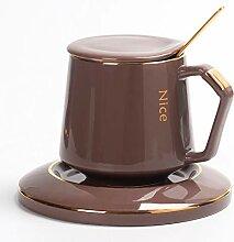 Kreative Keramik Kaffeetasse, Becher Mit