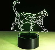 Kreative Kinder Weihnachtsgeschenk 3D Katze