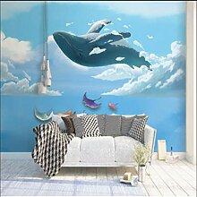 Kreative Kinderzimmer Hintergrund Tapete