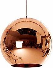 Kreative LED Glaskugel Globus Pendelleuchten