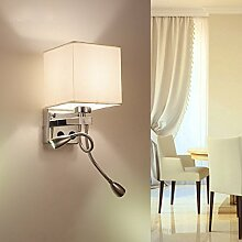 Kreative LED/Metall Wand Lampen,modernen/zeitgenössischen Retro Wandleuchte Nachtlicht, LED-Leselampe Hotel Mode-Schlafzimmer Nachttischlampe Lampe Nachttischlampe restaurant Tischleuchte