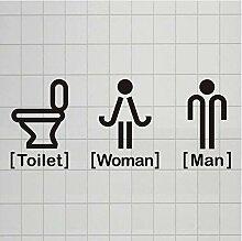 Kreative Männer Und Frauen Wc Zeichen Bad